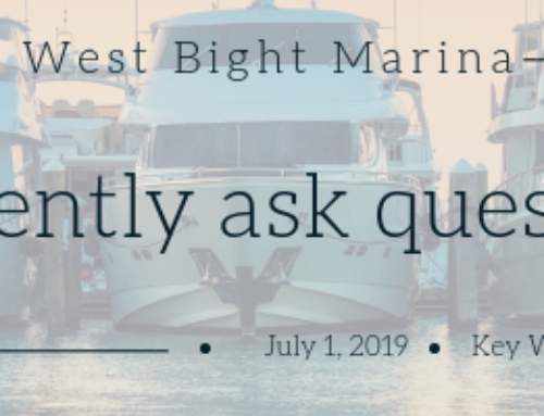 Bight Marina Frequently Asked Questions